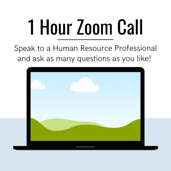 1 hour zoom call Laptop