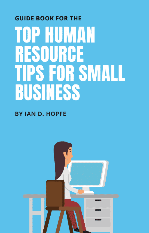 Top Human Resource Tips for Small Business Book Cover